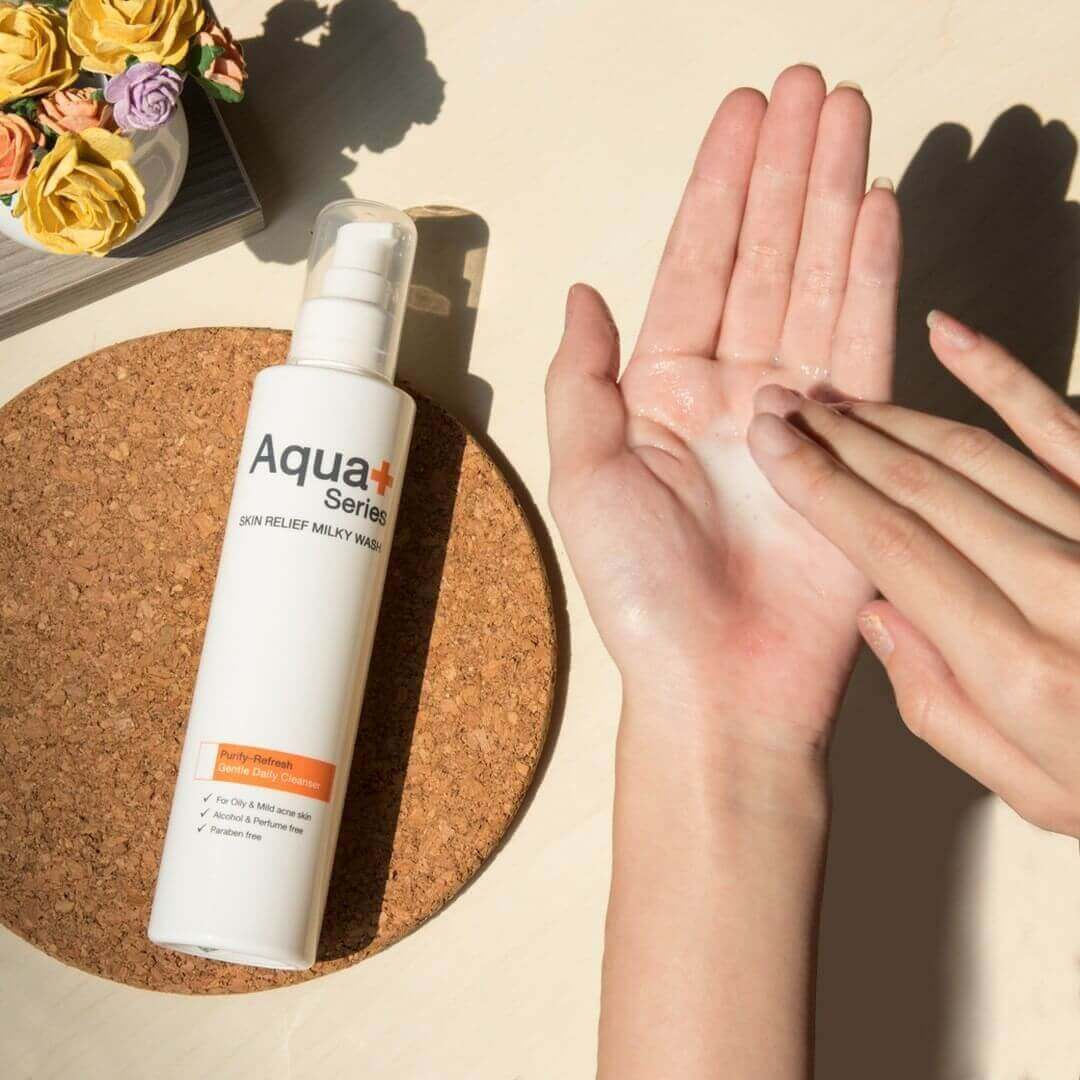 Skin Soothing Milky Wash โฟมล้างหน้า สูตรน้ำนม – 175 ml.