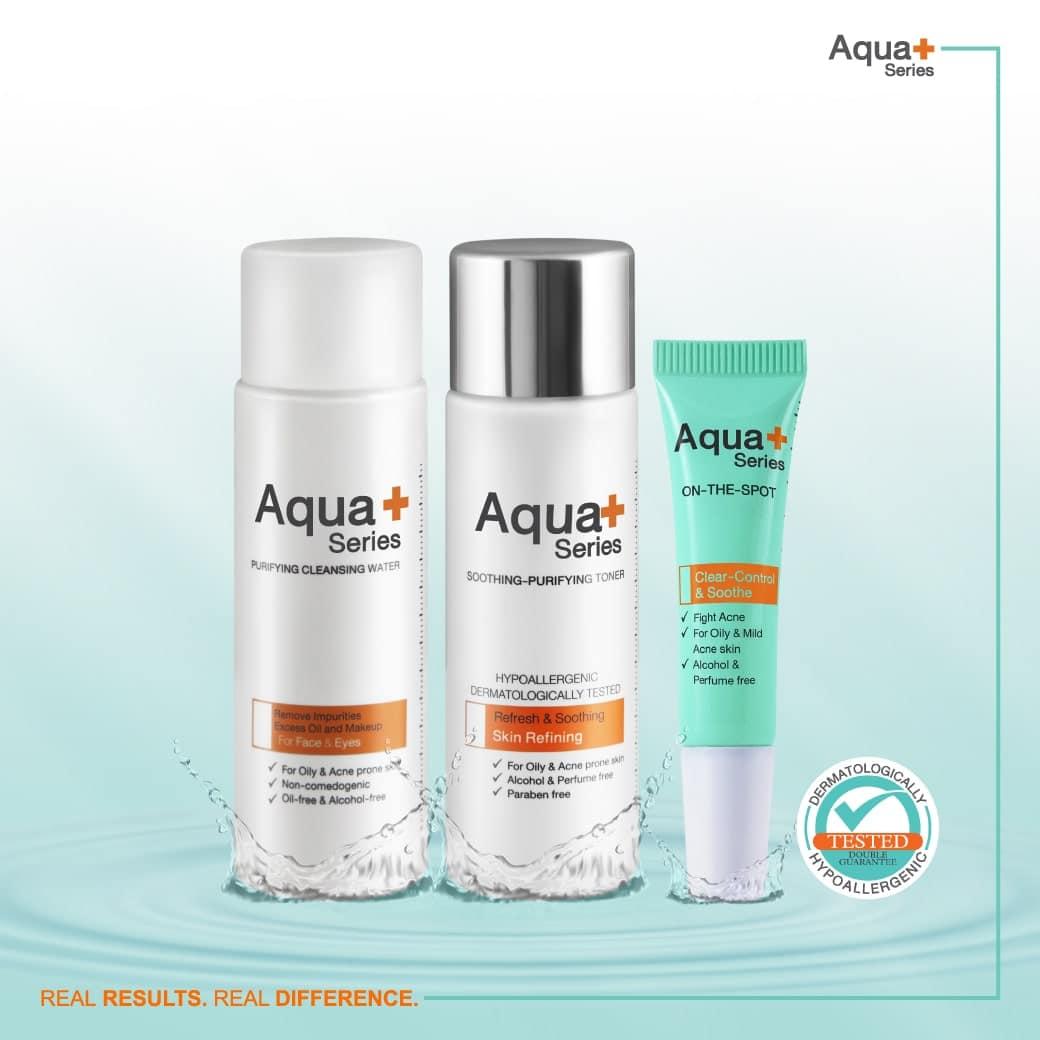 AquaPlus 3 Steps Acne Solution
